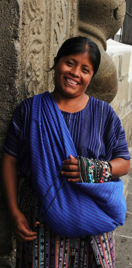 Toothy smile, Guatemala.