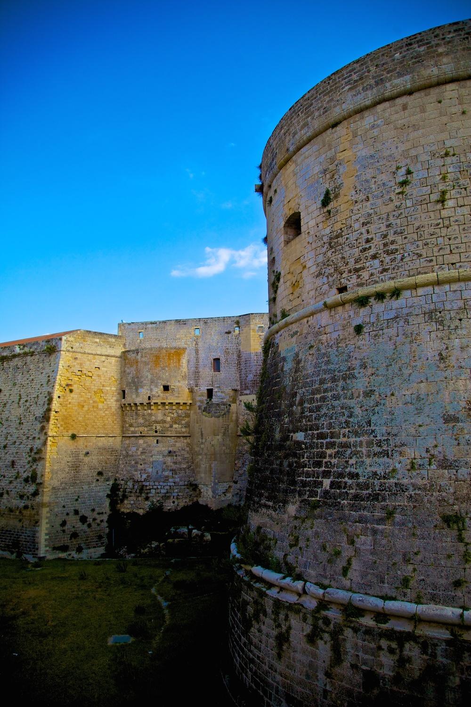 Castello Aragonese. Otranto, Italy.