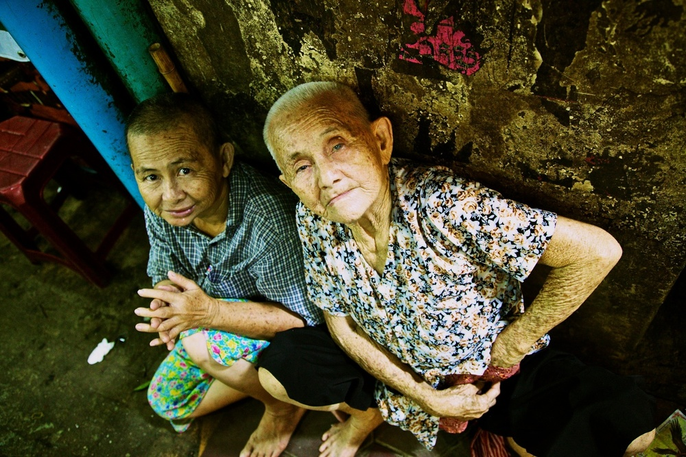 Old friends. Siem Reap, Cambodia.