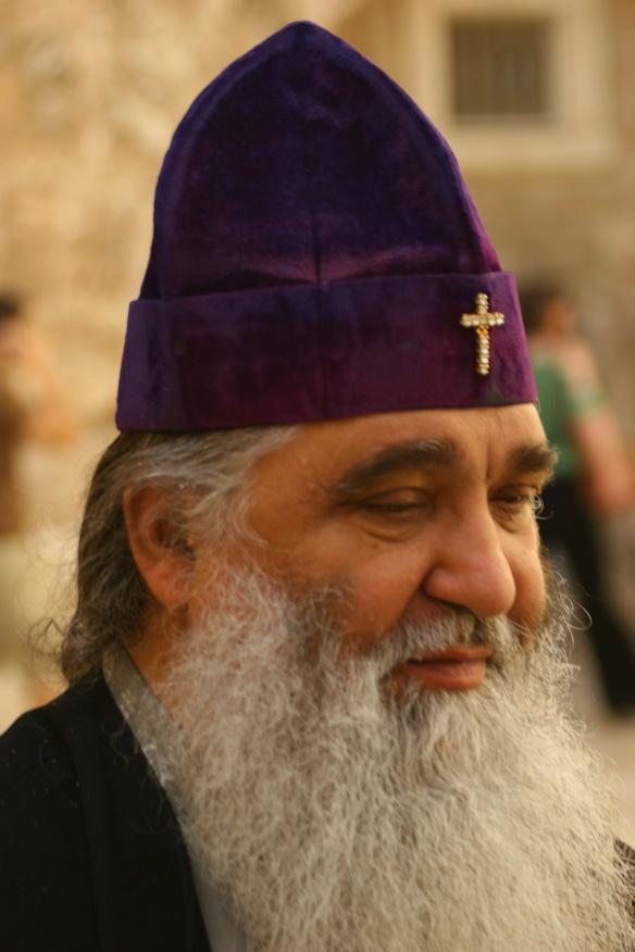 Russian Orthodox patriarch.
