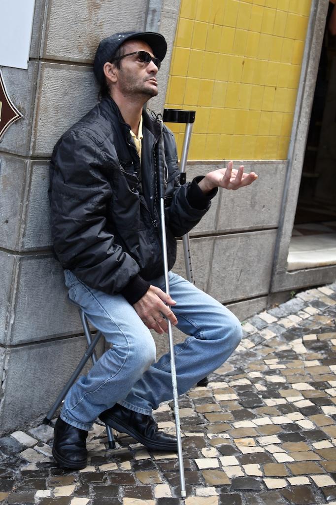 Beggar. France.