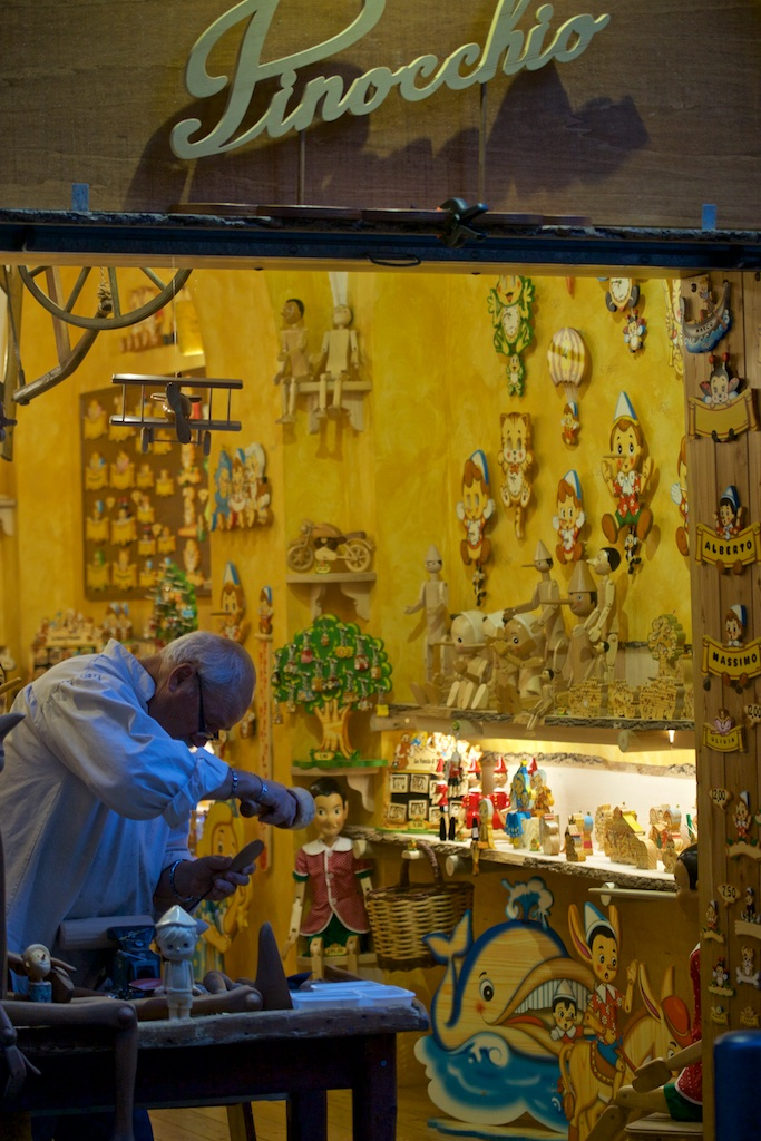 The carpenter. Rome, Italy.