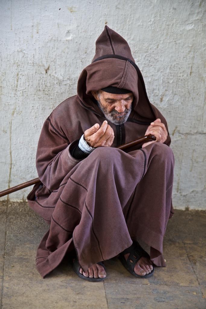 Beggar. Morocco.