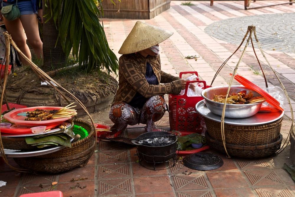 Street vendor. Hanoi, Viet Nam.