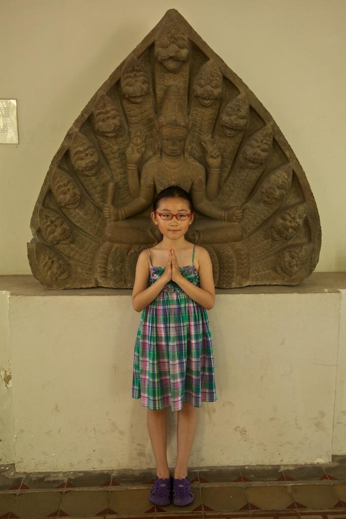 Lotus girl. Hoi An, Viet Nam.