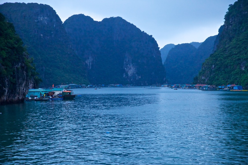The floating city, Halong Bay, Viet Nam.