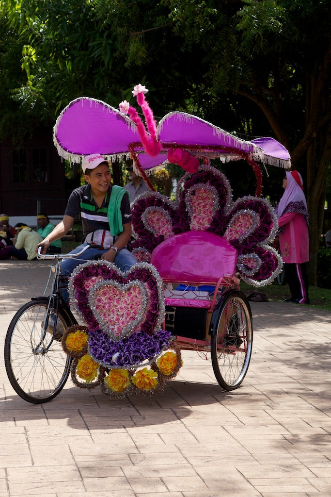 A transportation service with your interest at heart. Malacca, Malaysia.