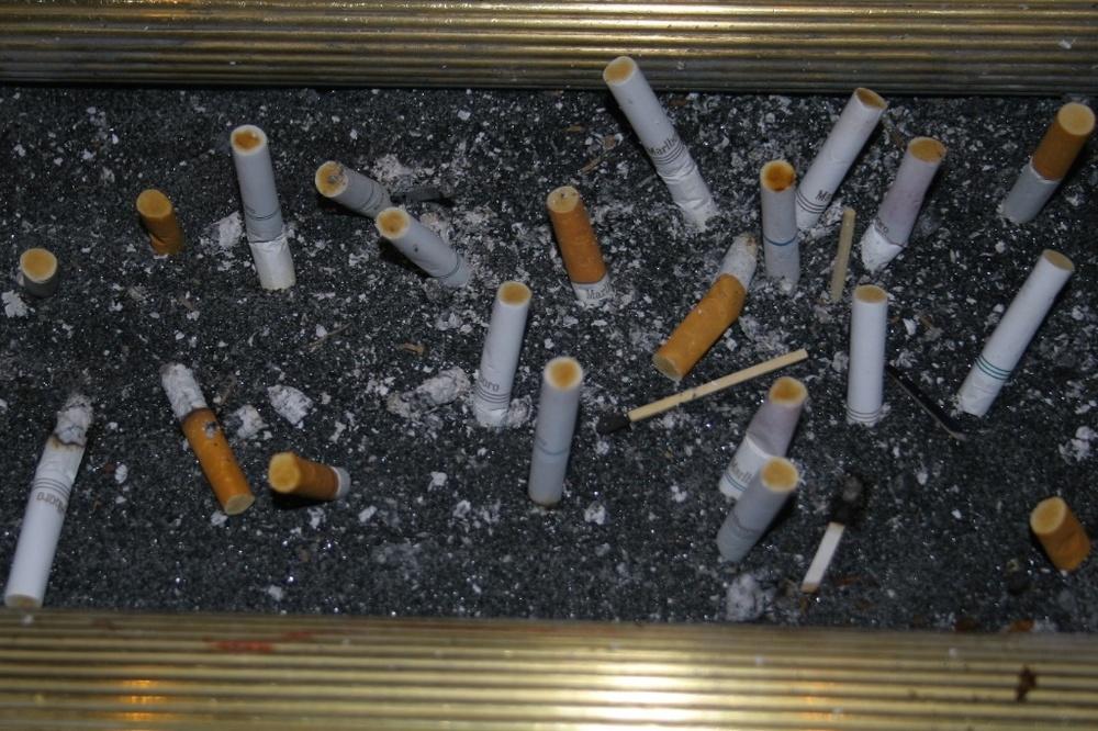 Nicotine proofs. Las Vegas, USA.