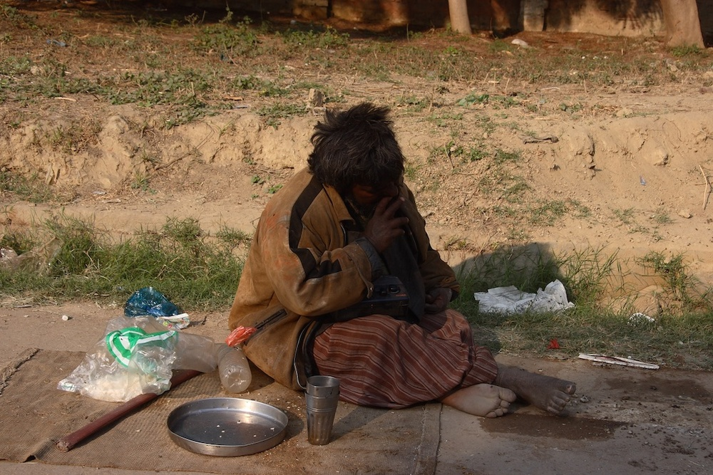 Poverty, India.