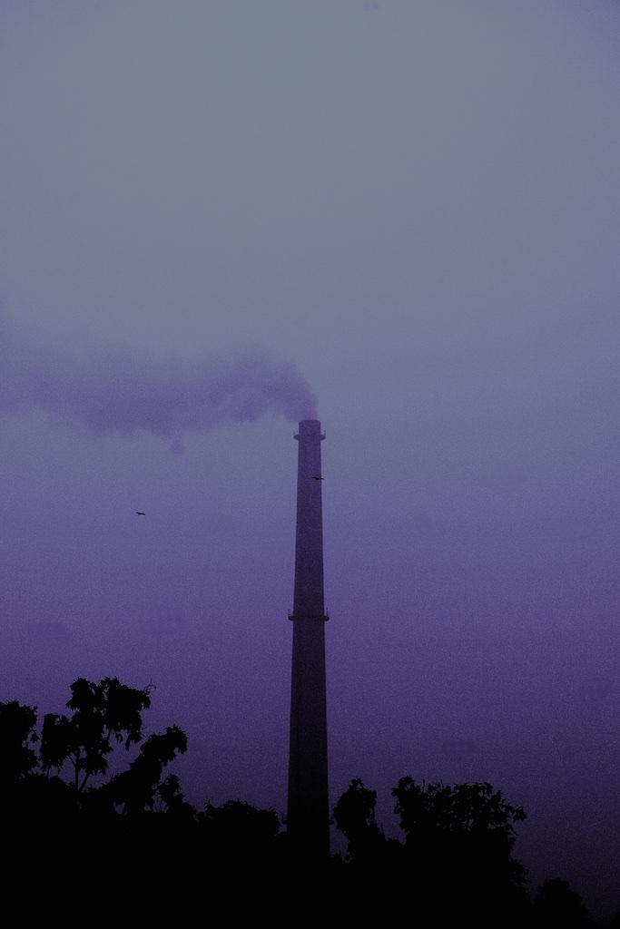 Clouds of contamination. New Delhi, India.