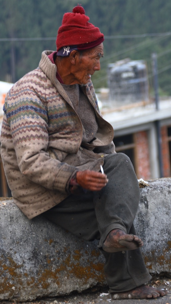 Mountain man. Darjeeling, India