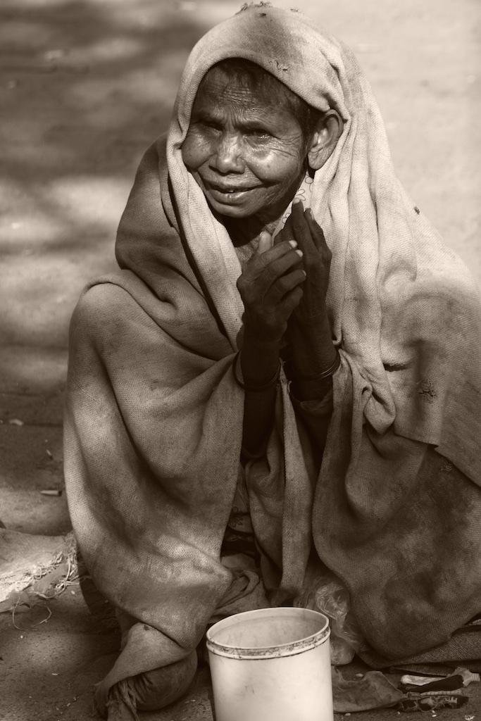 Beggar. India.