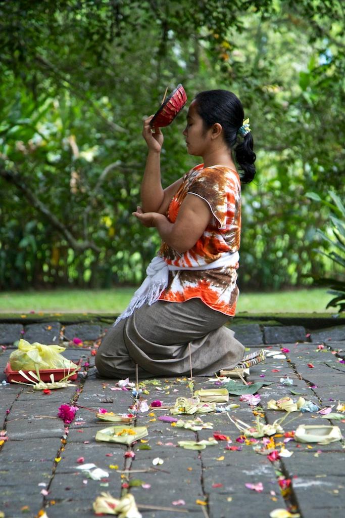 Worship. Bali, Indonesia