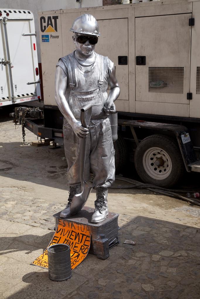 Silver miner.