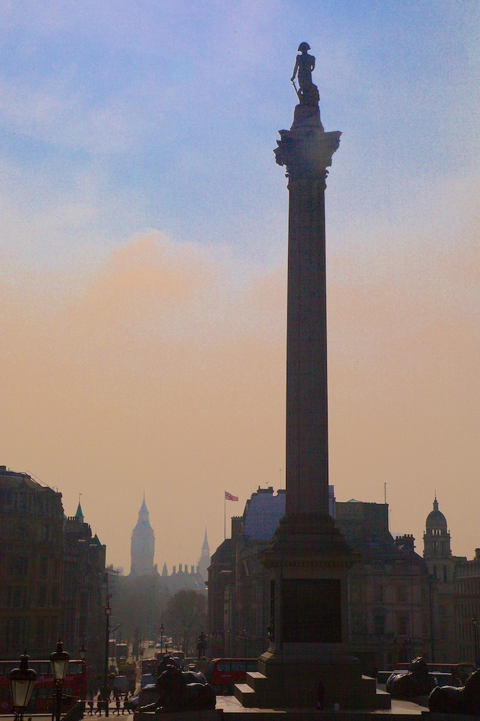 Trafalgar Square, London, United Kingdom.