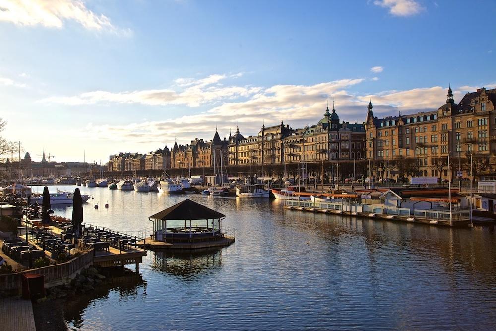 Strandvägen, Stockholm, Sweden.