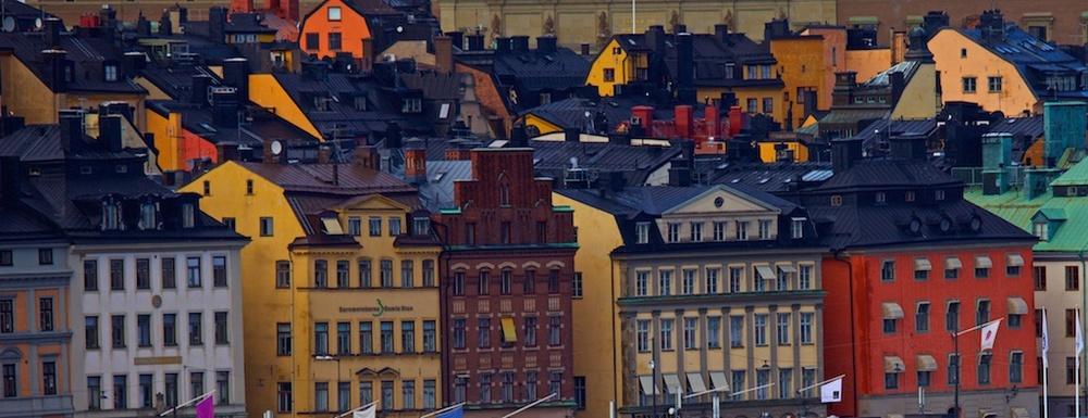 Family housing. Stockholm, Sweden.