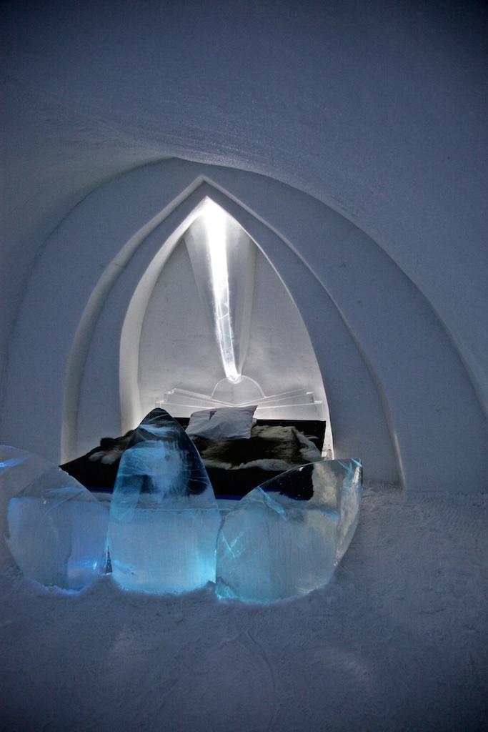 Room 18, Ice Hotel, Jukkasjärvi, Sweden.