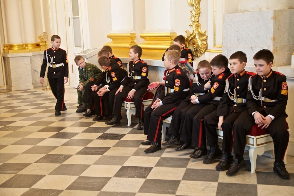 Officer material. Saint Petersburg, Russia.