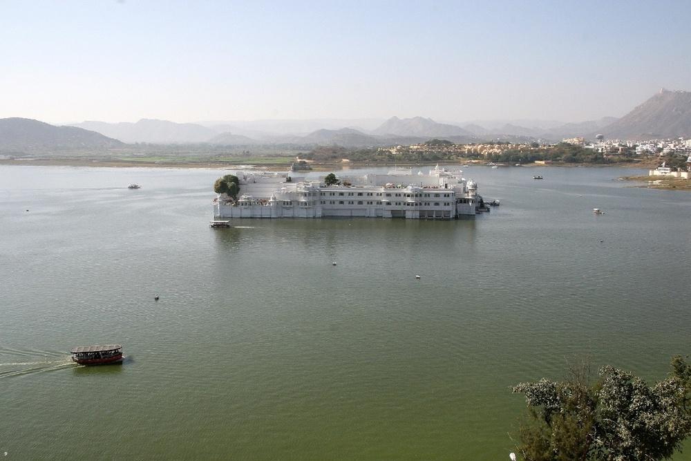 Floating Palace. Udaipur, India.