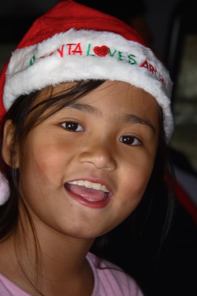 Young Santa Claus. Gangtok, India.