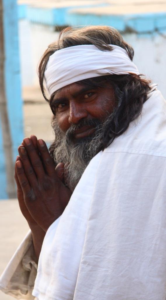 Guru by the Ganges. Varanasi, India.