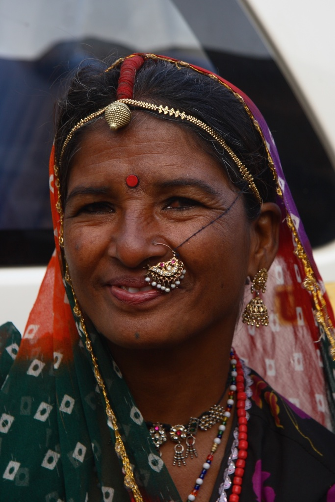 Nosejob elegance. India.