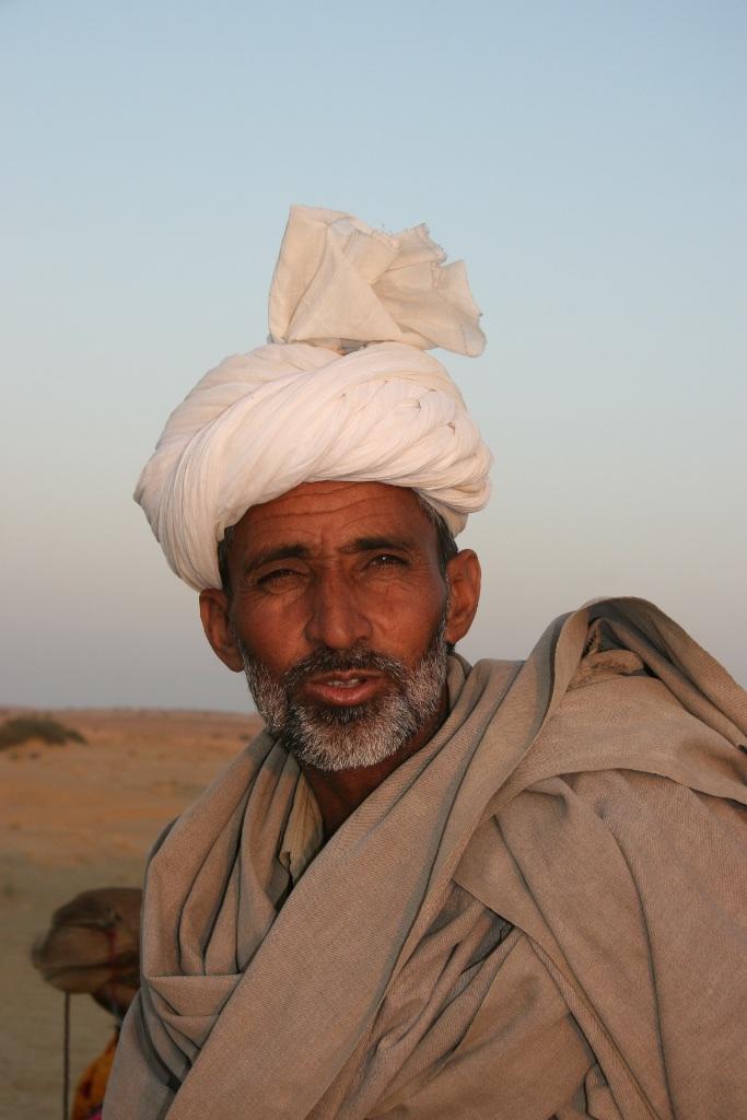 A desert nomad.