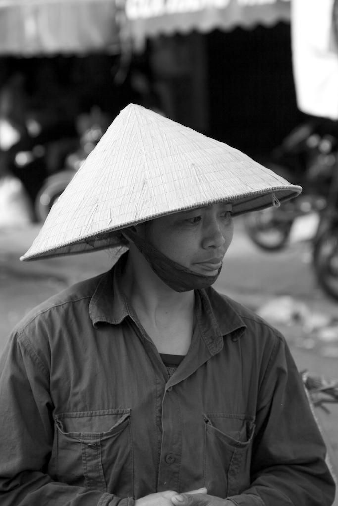 Protected, come rain or come shine. Saigon, Viet Nam.