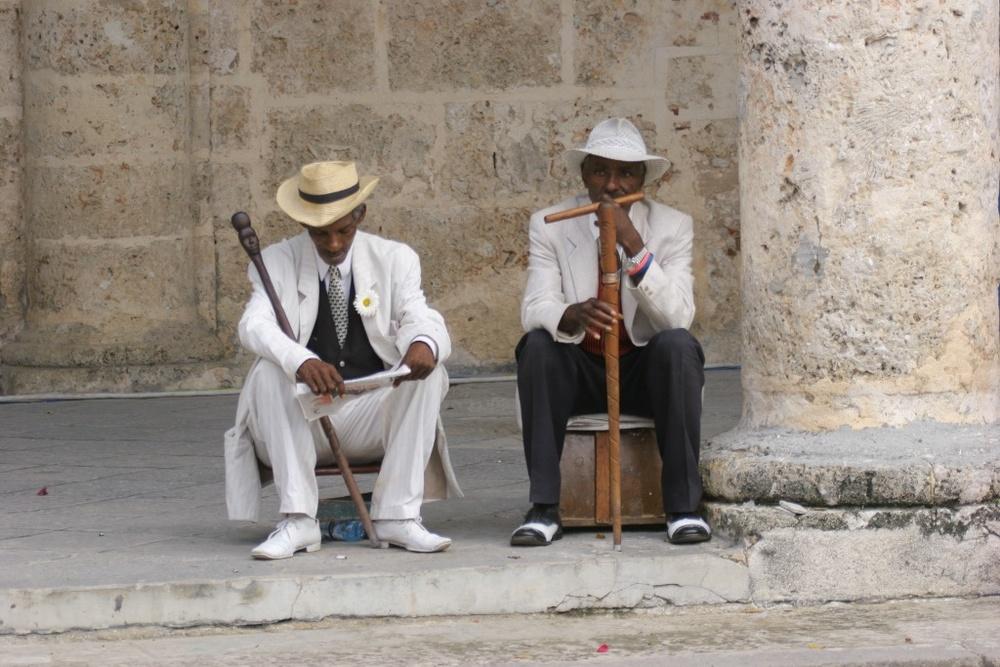 Gentlemen of the old school. Havana, Cuba.