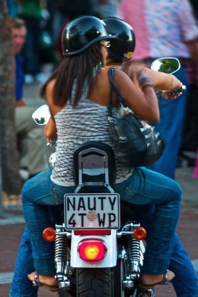 Naughty girls.