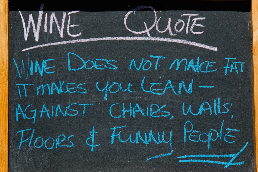 A most accurate wine quote.