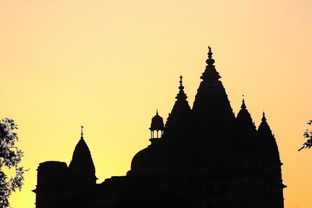 Indian sunrise.