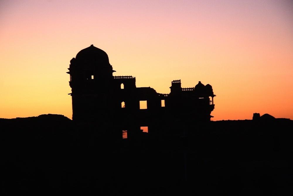 The ruins of the last mogul.