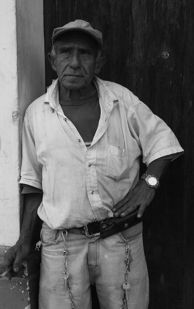 The man with the keys. Antigua, Guatemala.