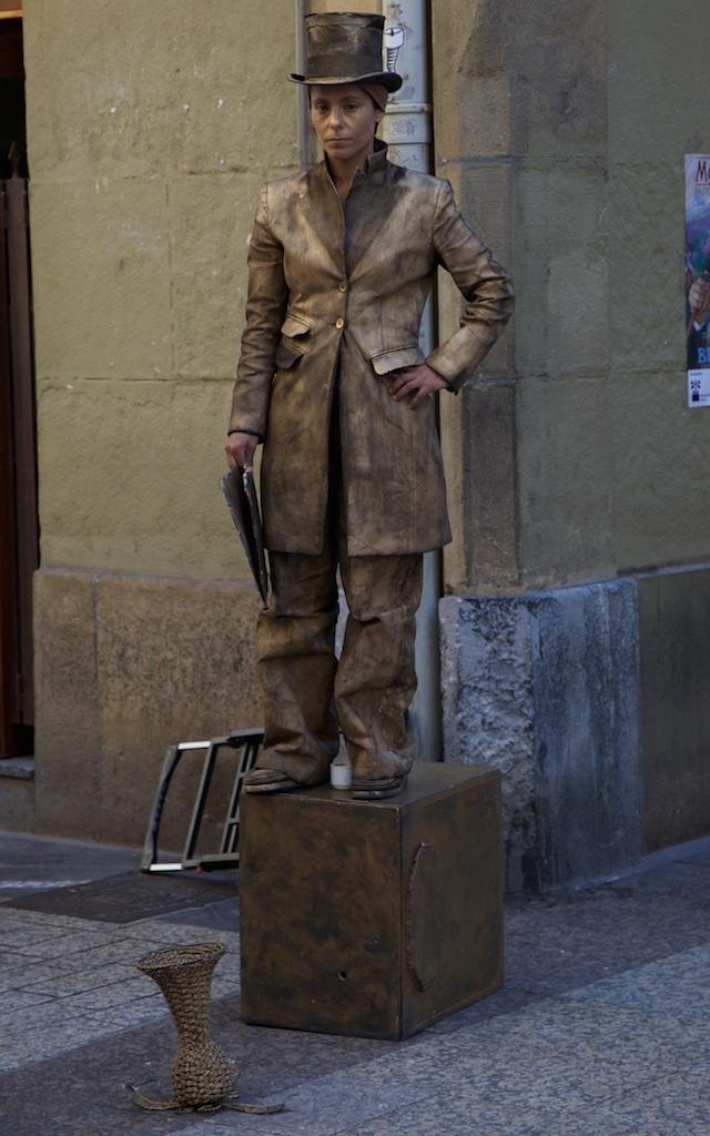 The immobile gentleman.