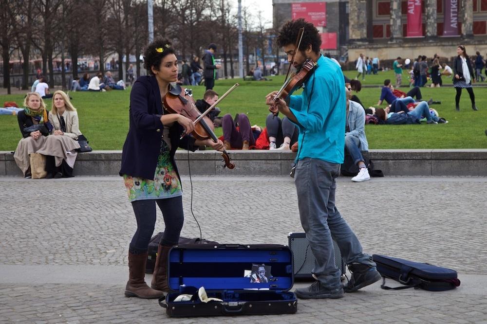 Violin virtuosos. Berlin, Germany.