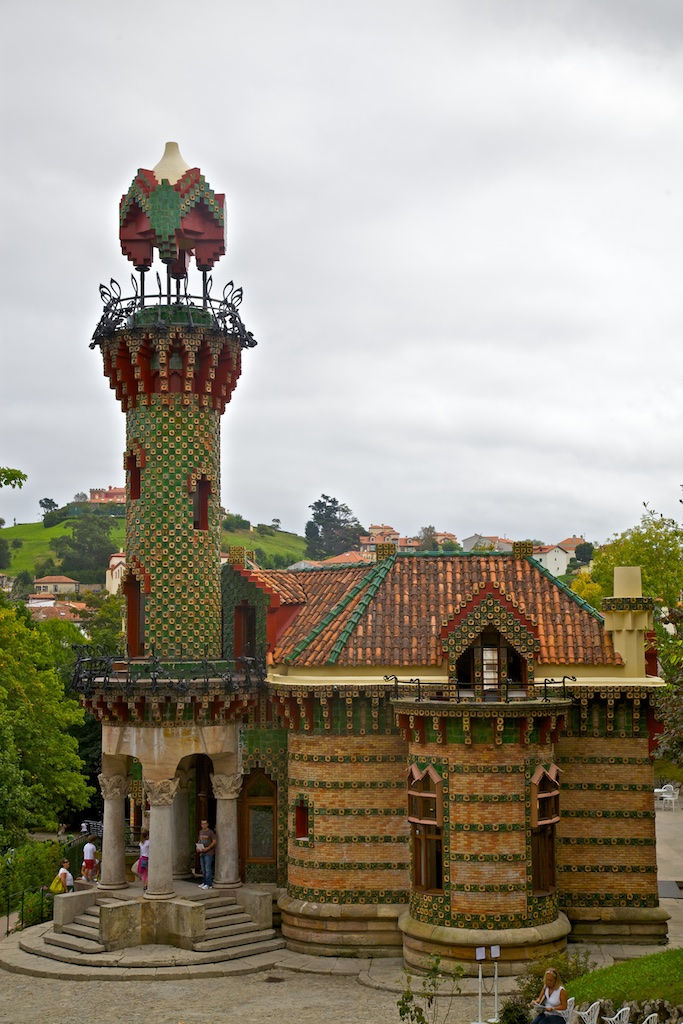 """The """"El Capricho"""" summer villa by Antonio Gaudí, Comillas, Spain."""