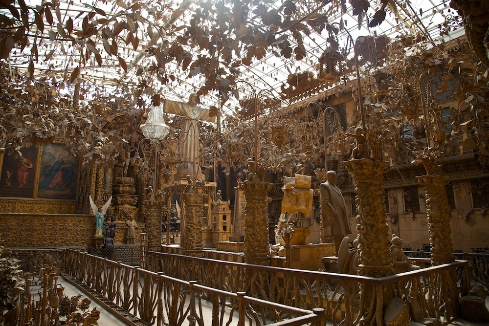 Cork millionaire Henrique Amorim's cork museum in Santa Maria de Lamas, Portugal.