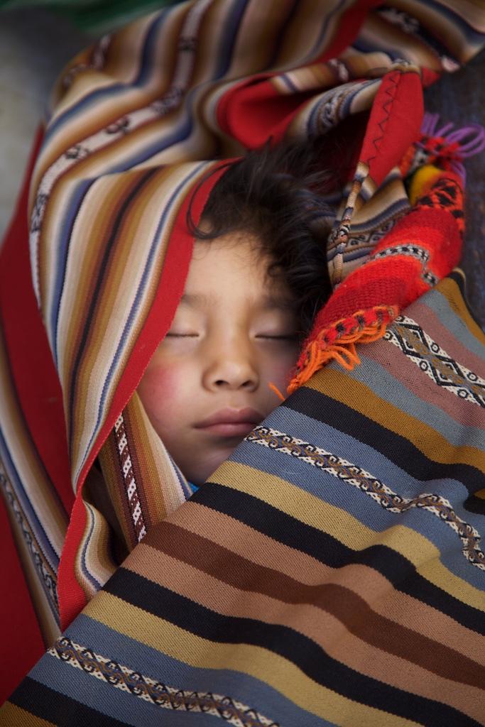 Still unaware of the problems the world faces. Cusco, Peru.