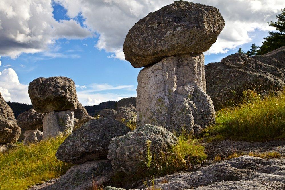 The Mushroom Rocks, Creel, Mexico.