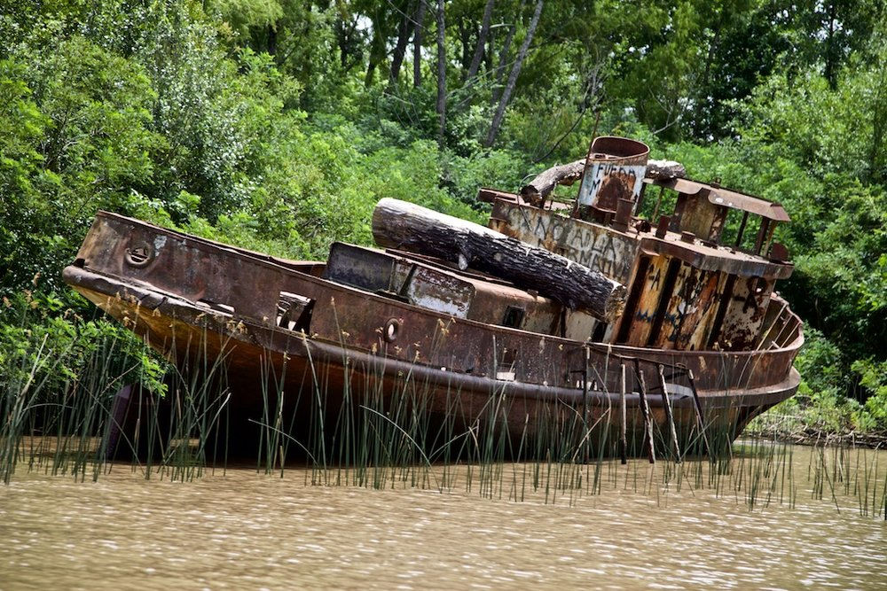 After the sailing days are over. Tigre, Argentina