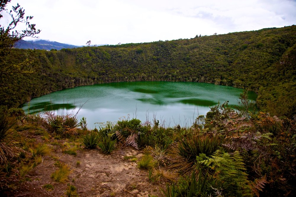 - Places & Spaces: The perfectly round crater lake where the legend of El Dorado was born before the Spaniards arrived in the Americas. Over the centuries gold and and emeralds have been recovered here from pre-colombian ceremonies, although no one ever found the fabled El Dorado empire. Lago Guatavita, Colombia