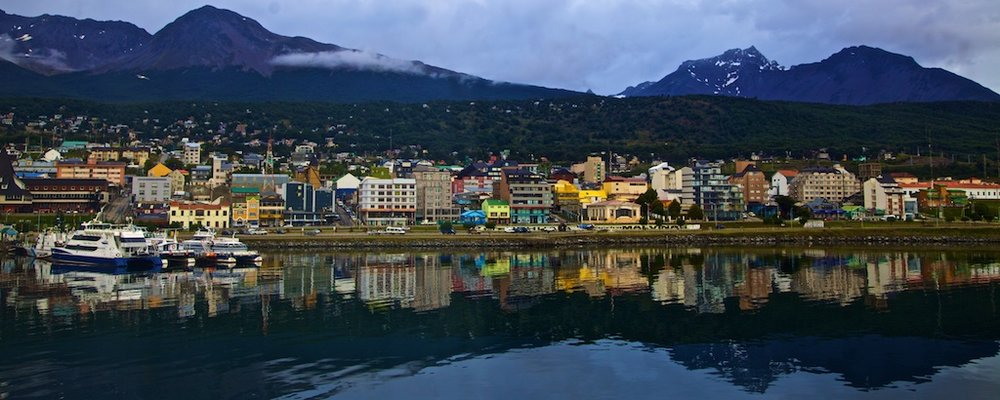 - Places & Spaces: The end of the world. Ushuaia, Chile.