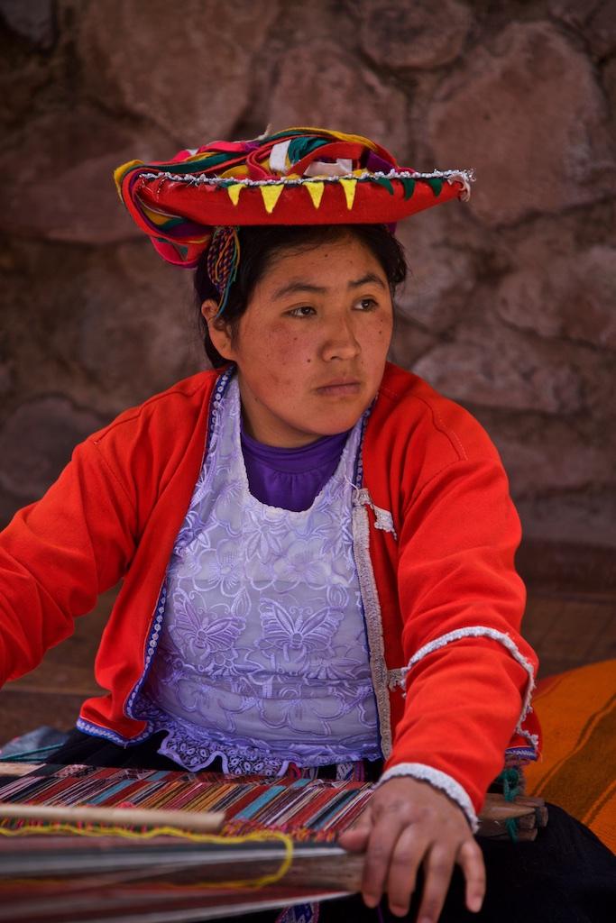Weaver, Peru.