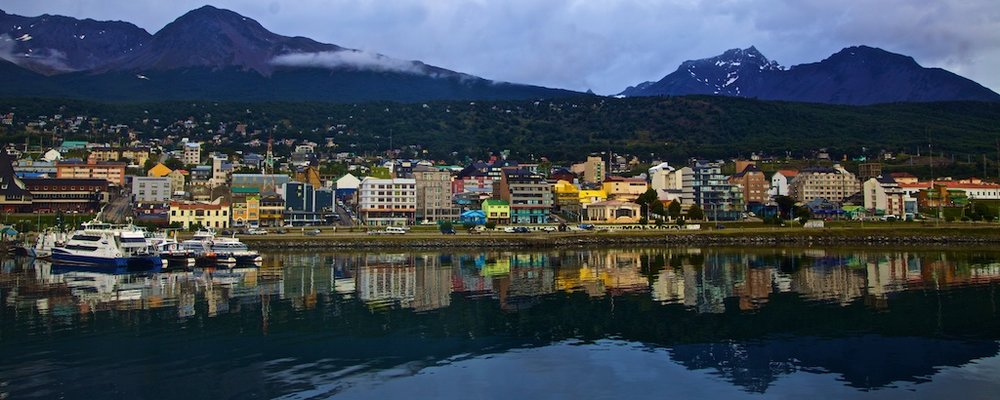 The world's southernmost city: Ushuaia, Argentina