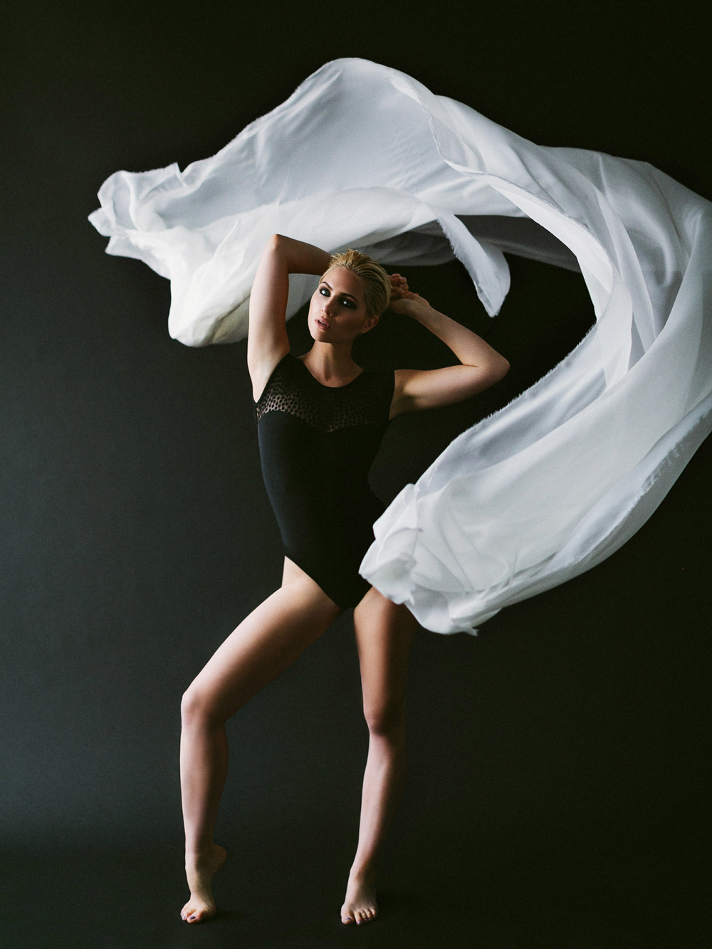 Motion with fabric | Katch Silva