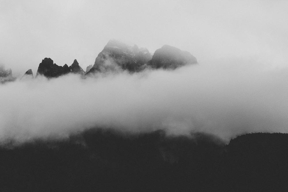 Foggy peaks | Katch Silva