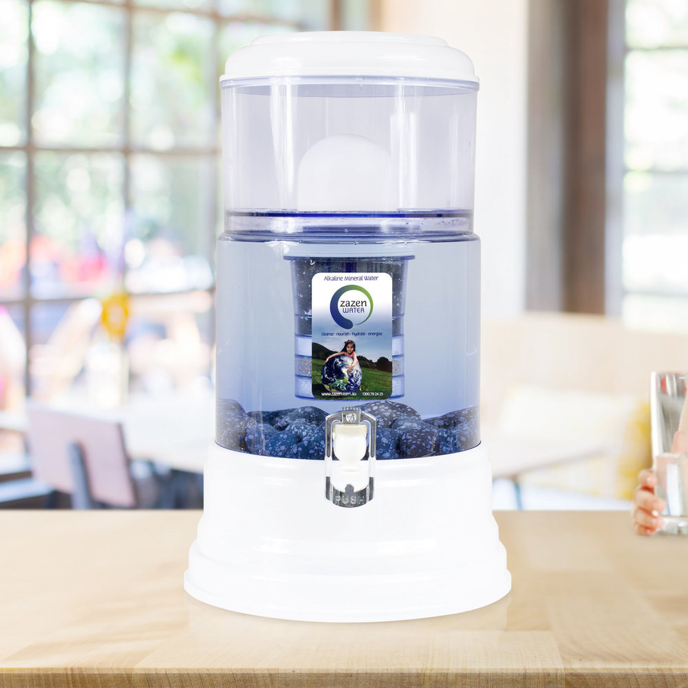 Pure, clean, alkaline, mineral-rich water is the zest of life! I love my Zazen Alkaline Water filter system that puts minerals back into...  read more