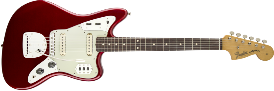Fender Classic Player Jaguar with a polyester finish.